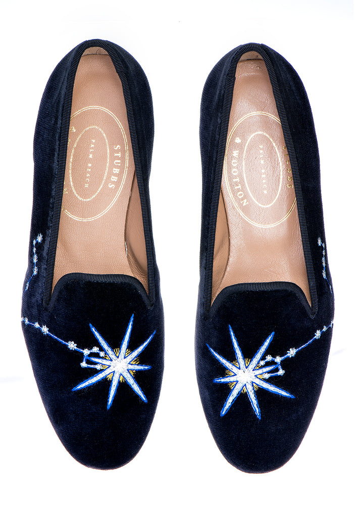 Pisces Midnight Men Slipper