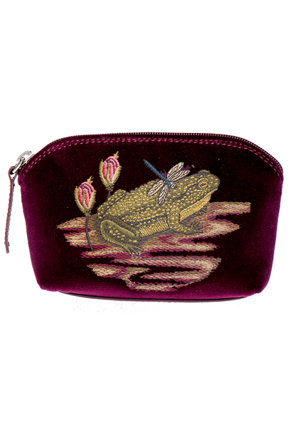 Ribbiting Burgundy Pocket - Ribbiting Burgundy Pocket