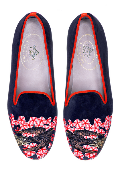 Swallows Navy (JD) Women Slipper - Swallows Navy (JD) Women Slipper