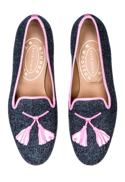 Tassel Pink Women Slipper