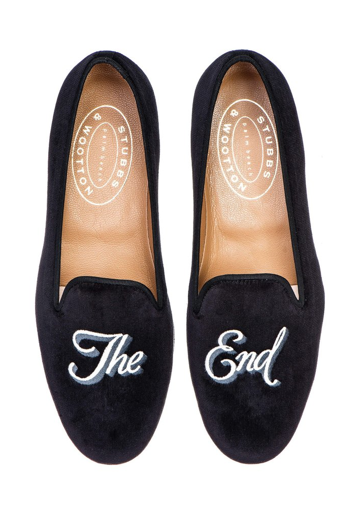 10eca444741a2 The End Men Slipper