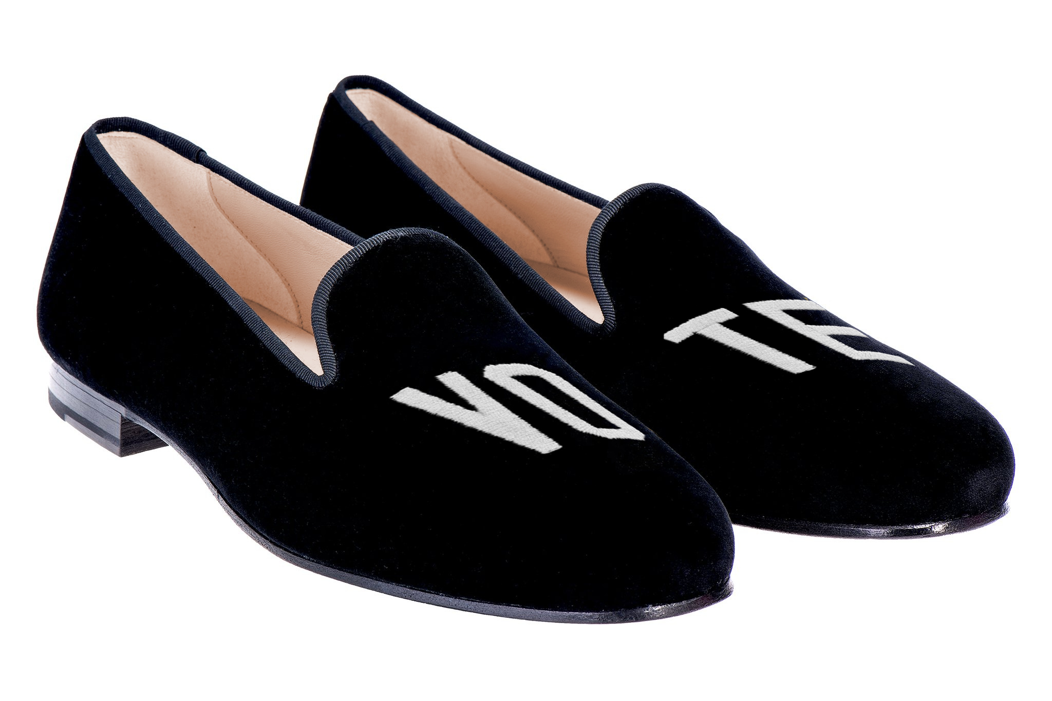 Vote Black Women Slipper TS