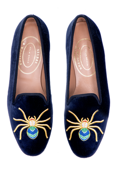 Web Navy Women Slipper - Web Navy Women Slipper
