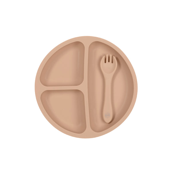 My Little Plate & Fork Set | Silicone Plate and Fork Set