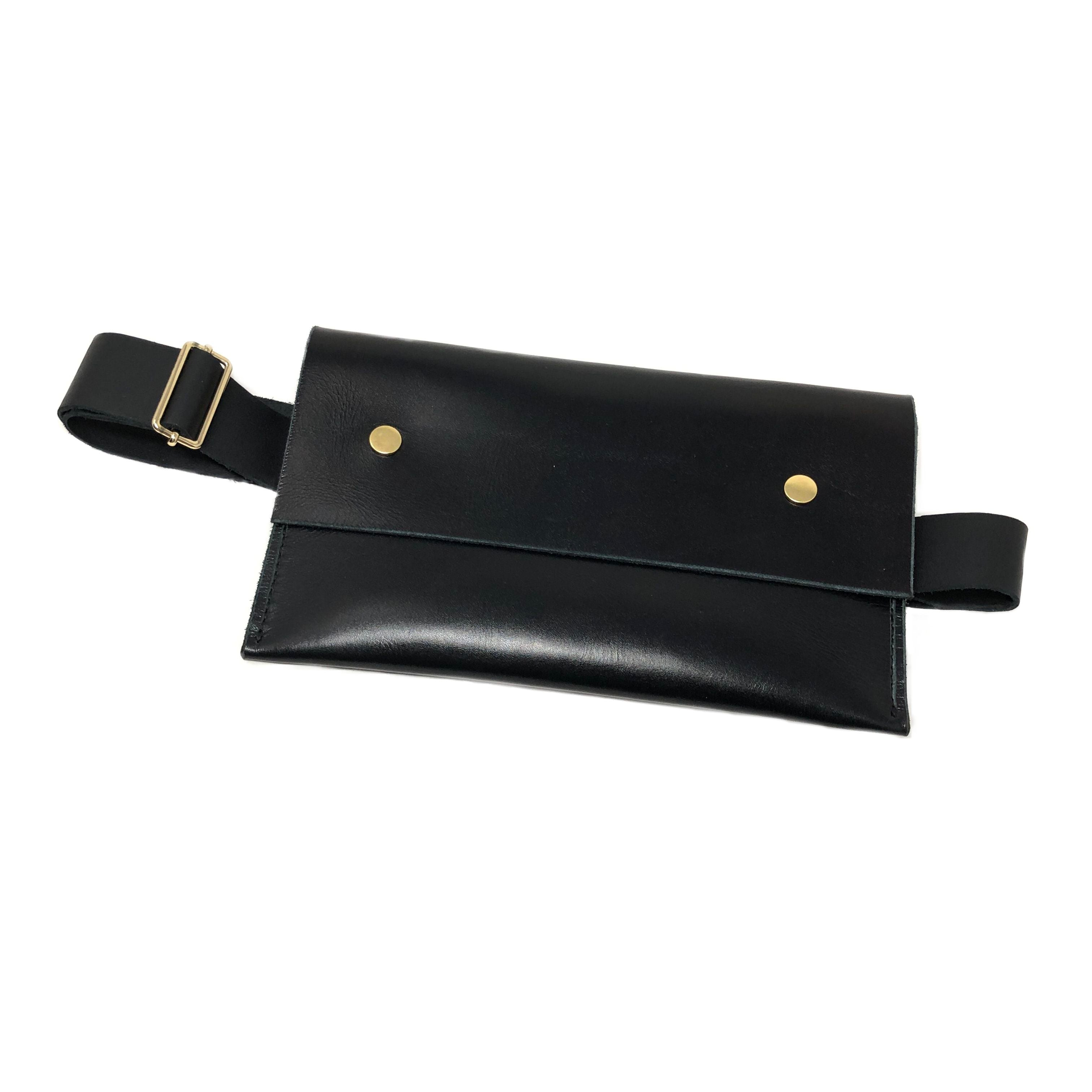 Genuine Leather Belt Bag
