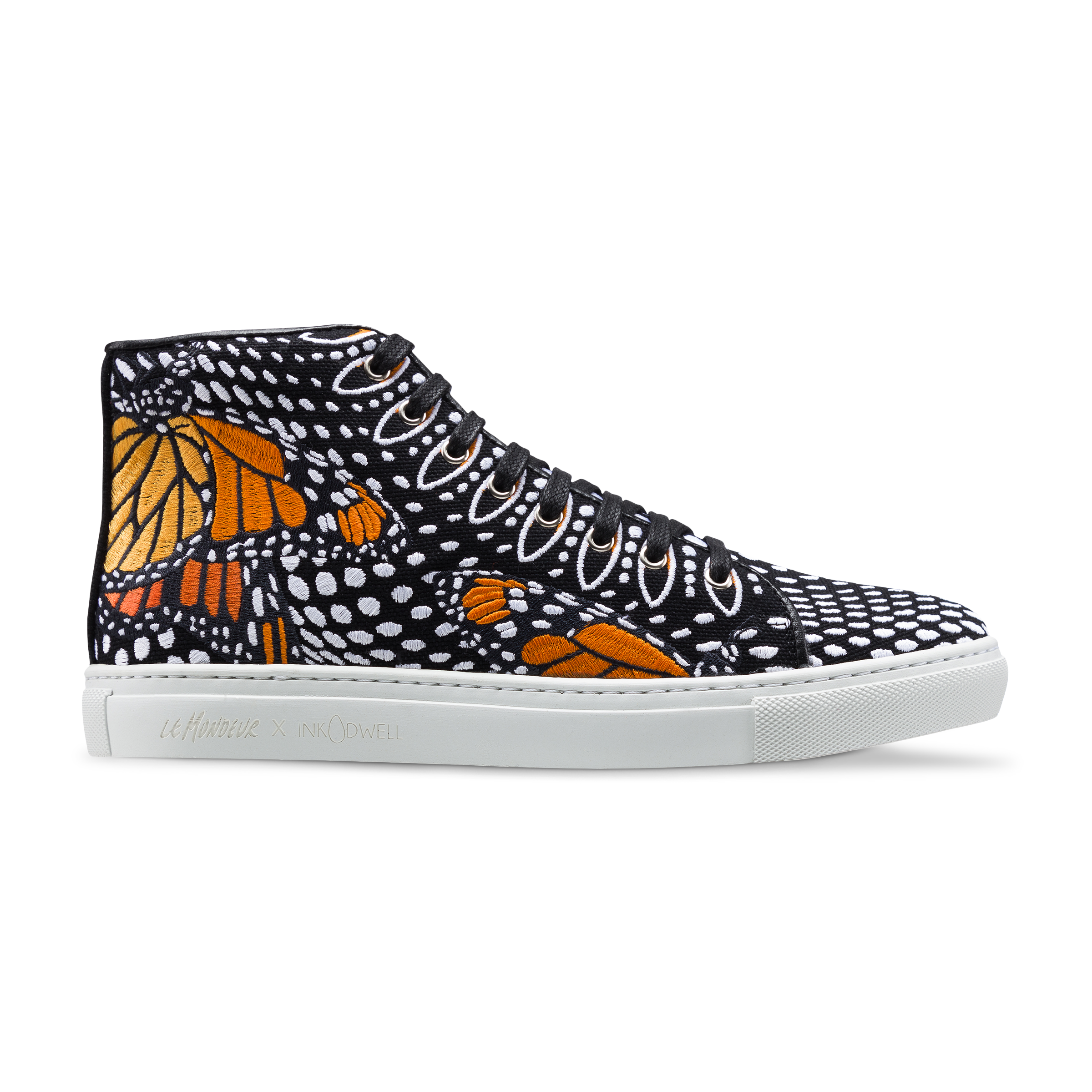 Monarch in Moda - High Top by Le Mondeur x Ink Dwell