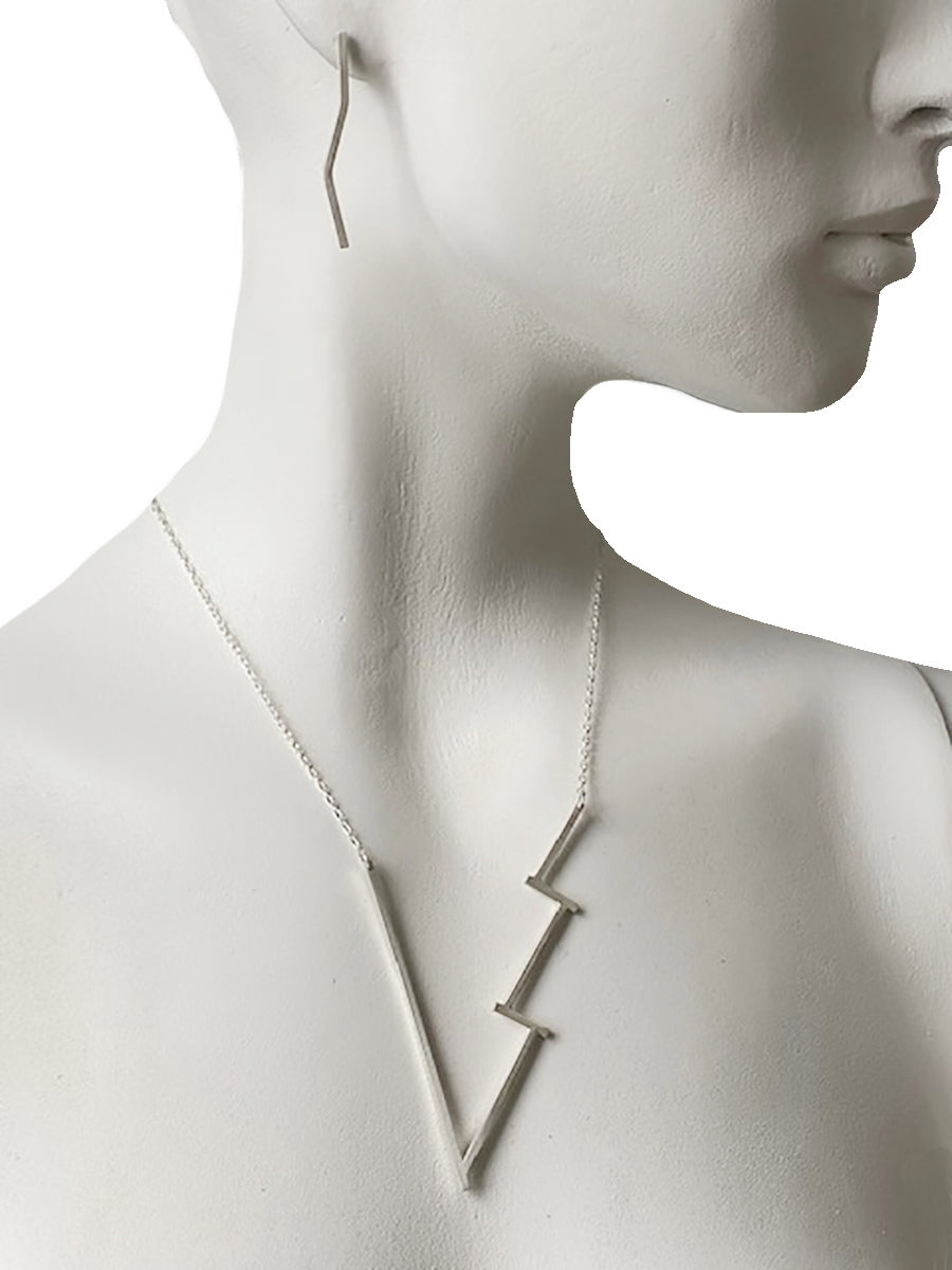 Energy Necklace - Sterling Silver or 18K Gold Vermeil