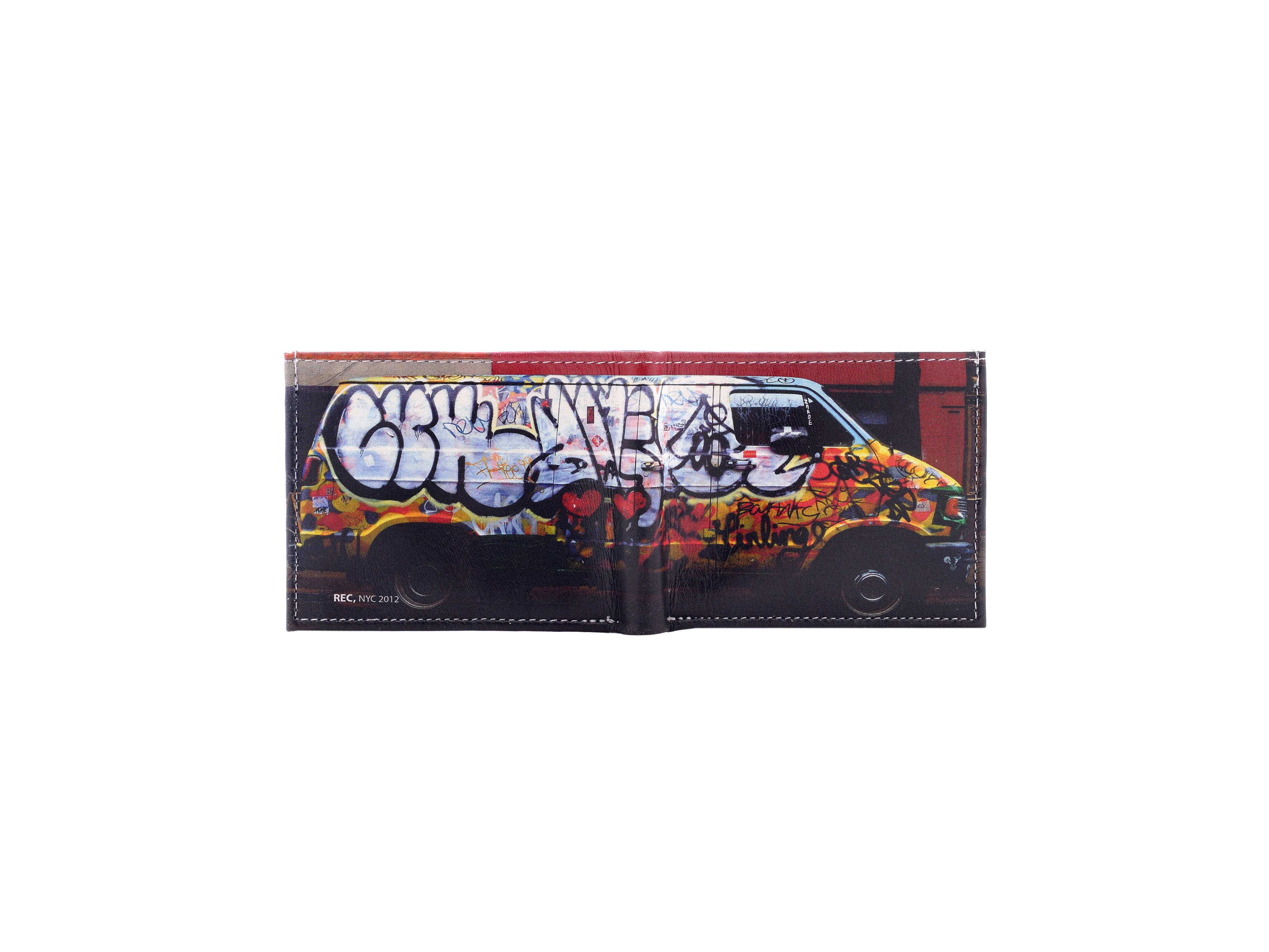 Leather Wallets - Graffiti Van - Photography