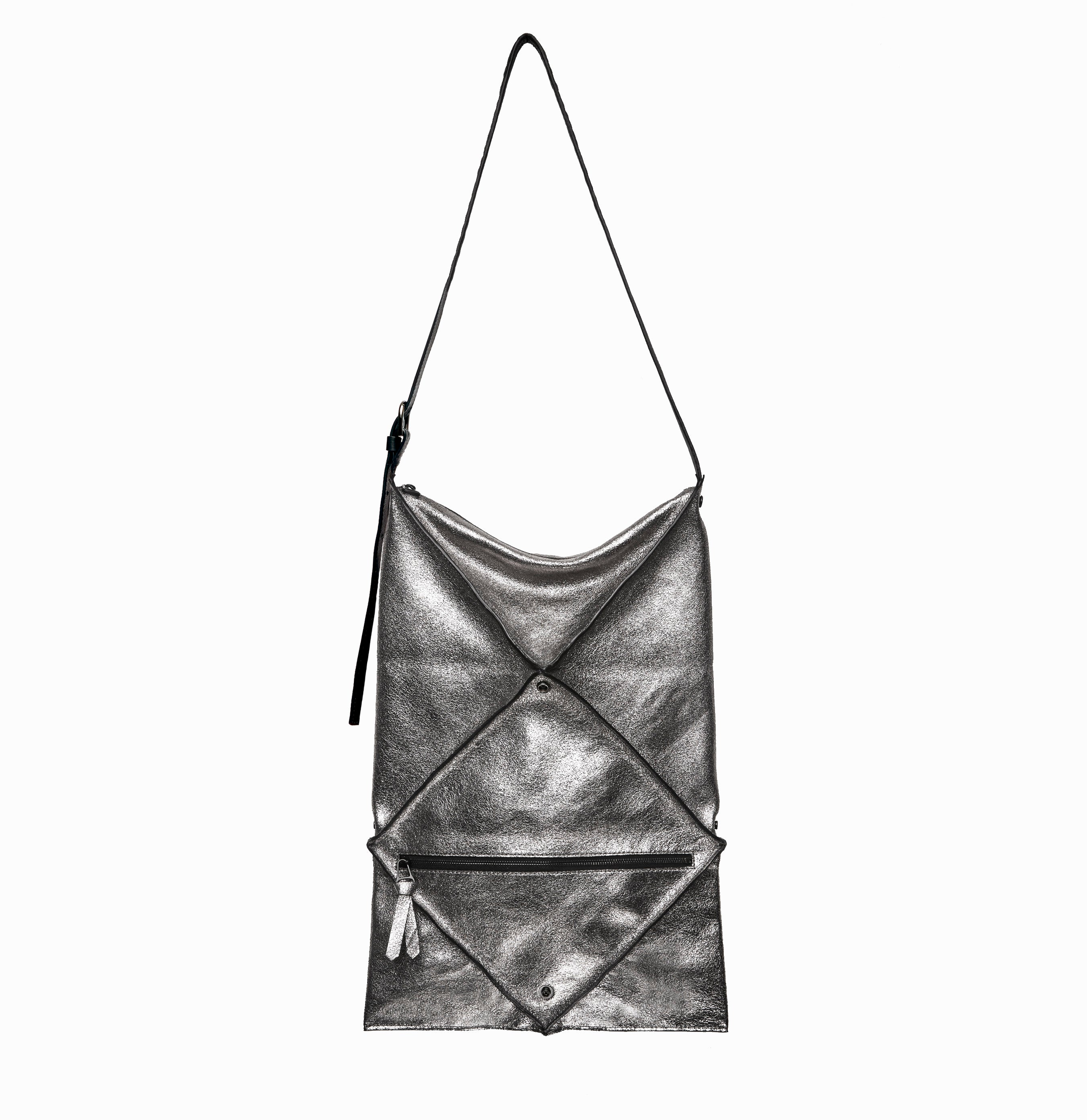 Hana Convertible Shoulder Bag - Metallic
