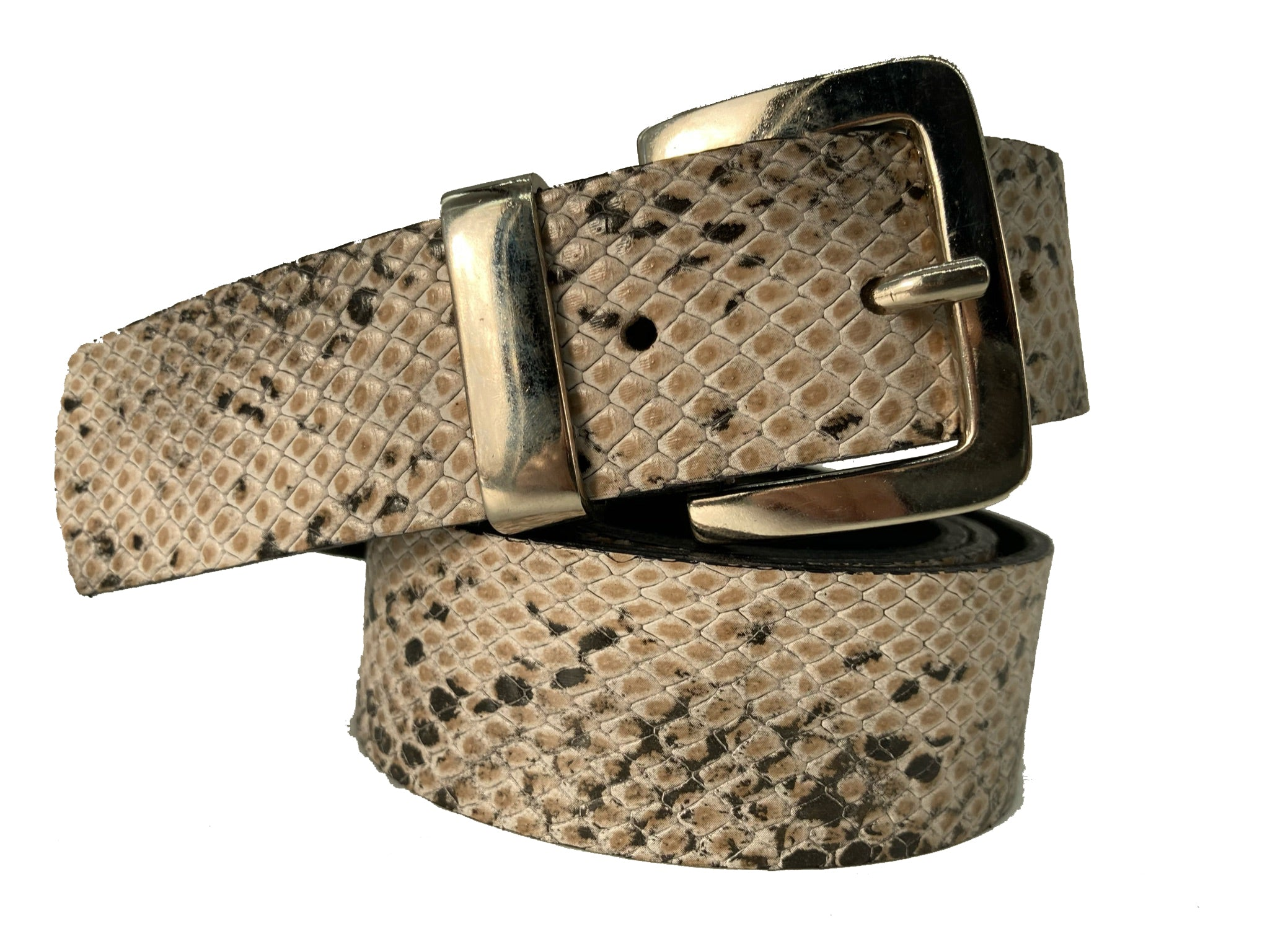 "Handcrafted Leather Belt - ""Nolita Snack"""