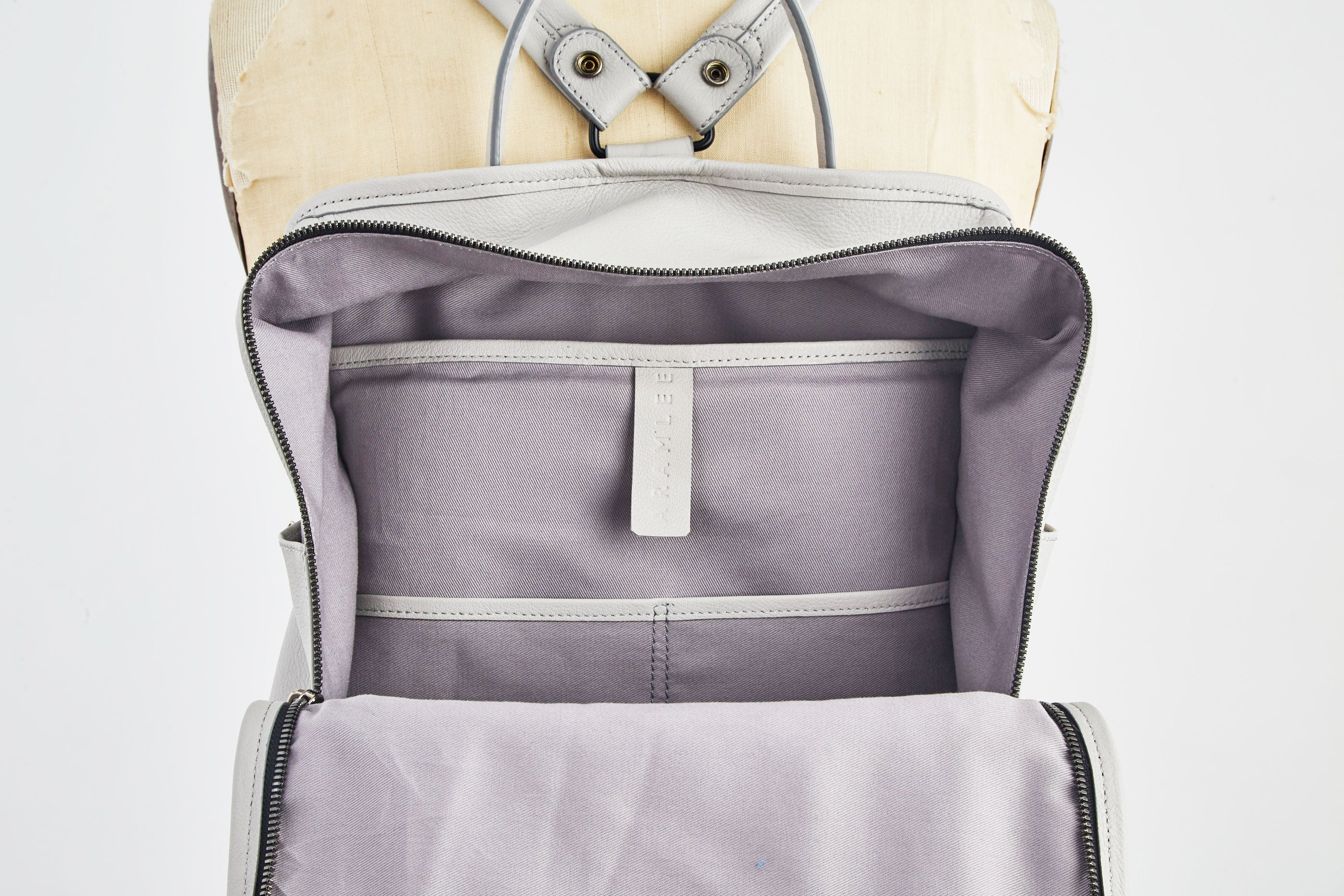 Nora Backpack - Light Grey
