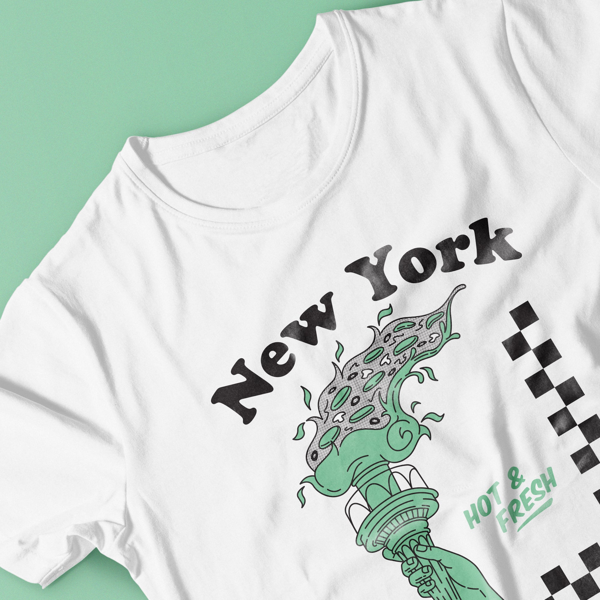 New York Hot and Fresh T-shirt by Lulab
