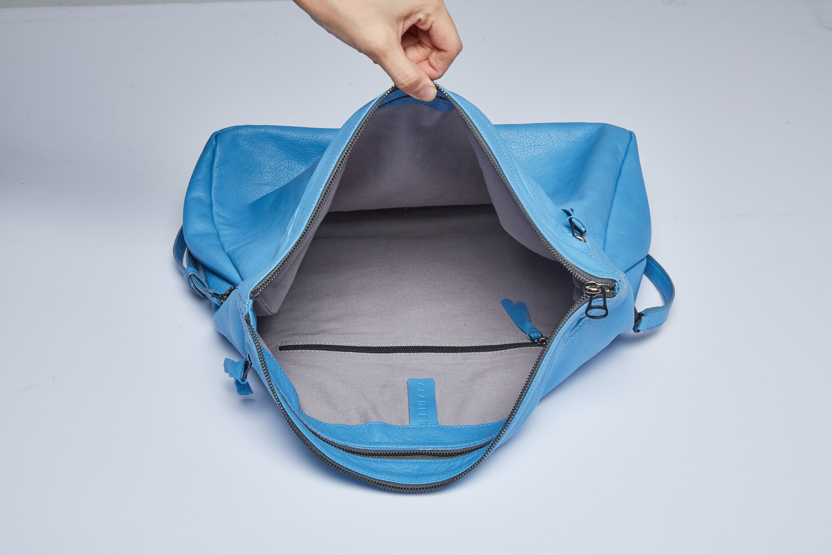 Rei Convertible Shoulder Bag - Ocean Blue