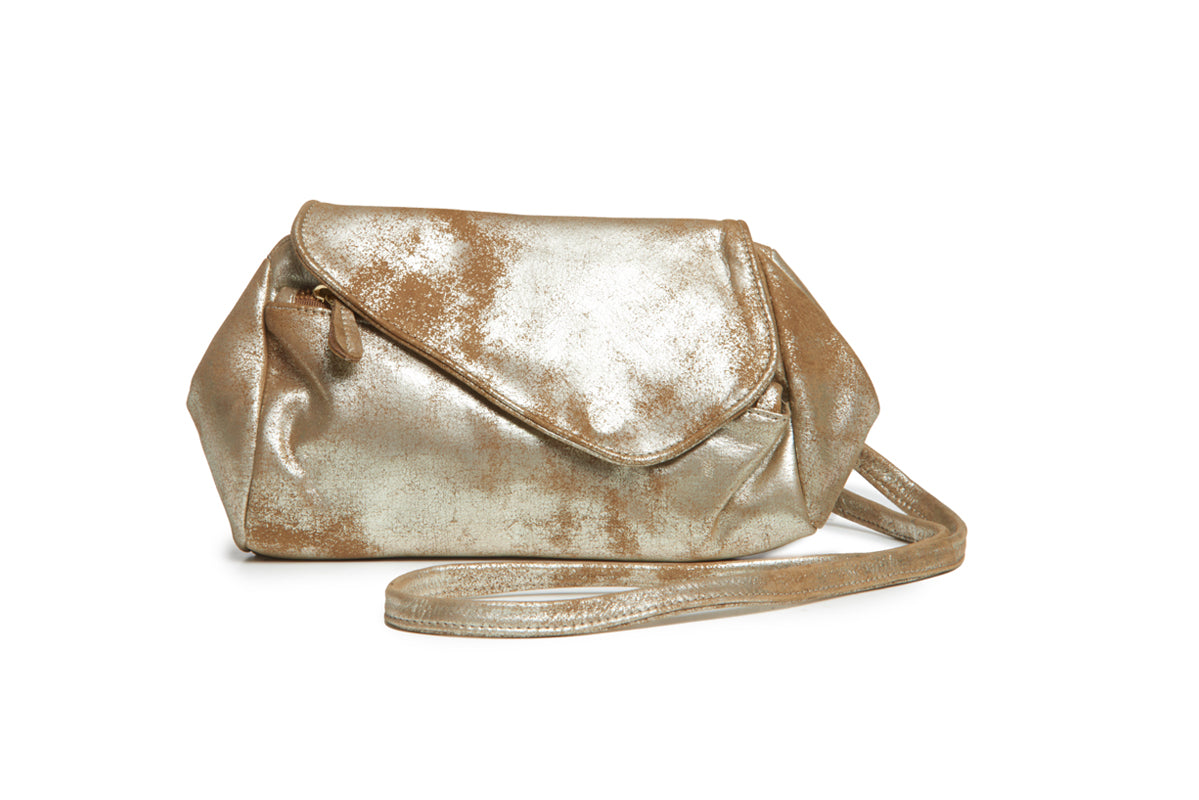 Josephina Convertible bag - Metallic Tan - Italian Leather