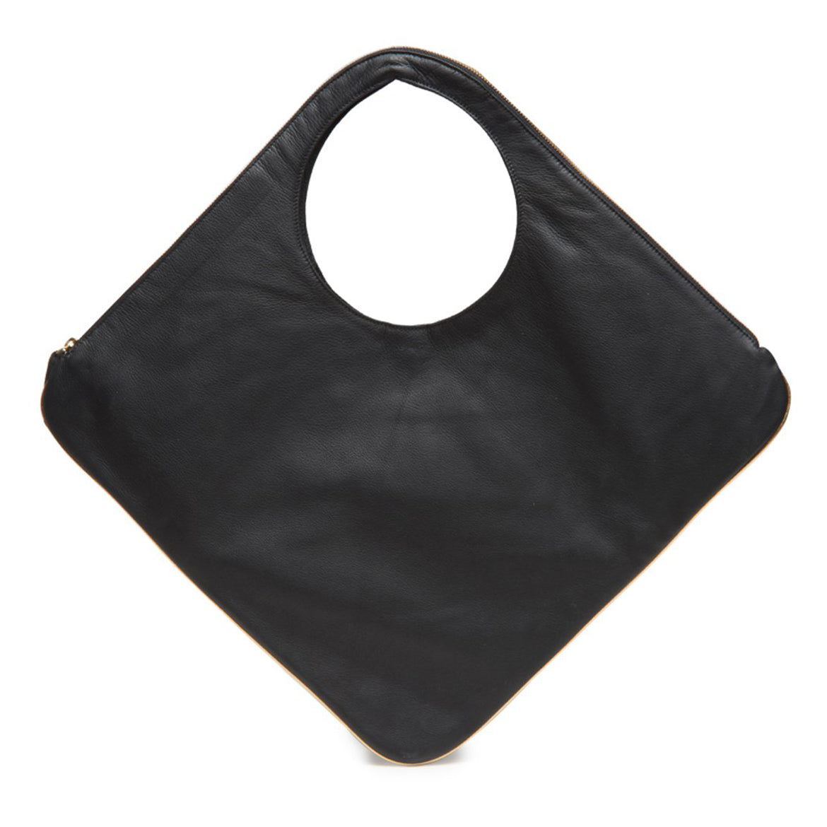 Diamond Bag - Black - Italian Leather