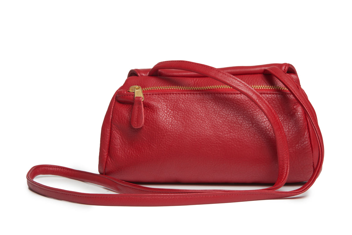 Josephina Convertible Bag - Red - Italian Leather