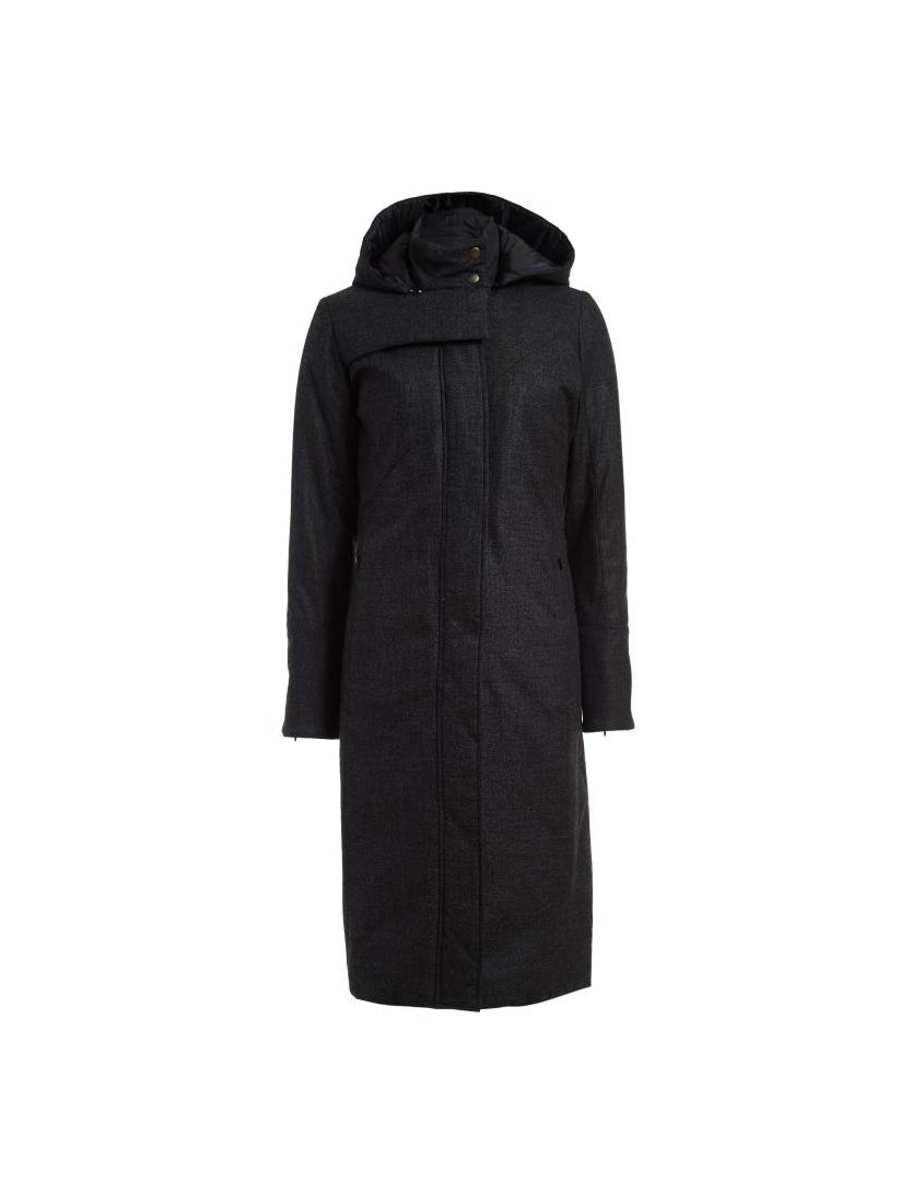 Storm Coat - Black - Thinsulated Quilted Lining