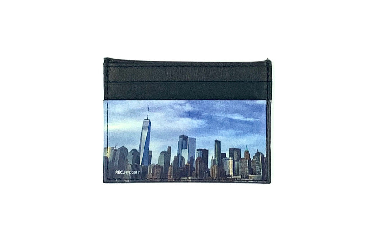 Leather Cardholders - WTC Skyline - Photography