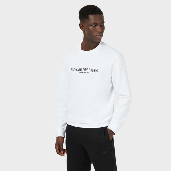 "Emporio Armani Sweatshirt With ""The Eagle Brand"" Logo"