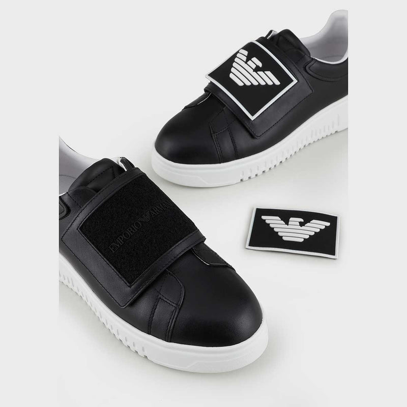 Logo Patch Detail Sneaker