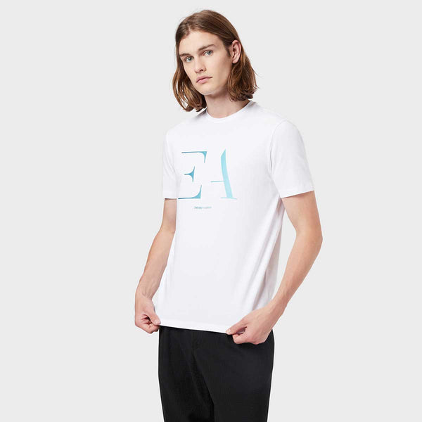 LOGO STRETCH COTTON T-SHIRT