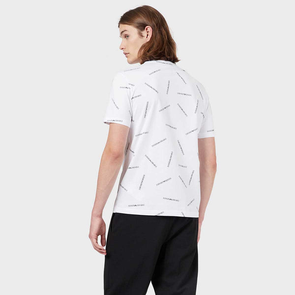 ALL OVER LOGO PRINT T-SHIRT