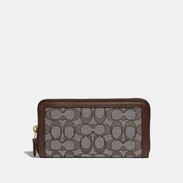 Coach Accordion Zip
