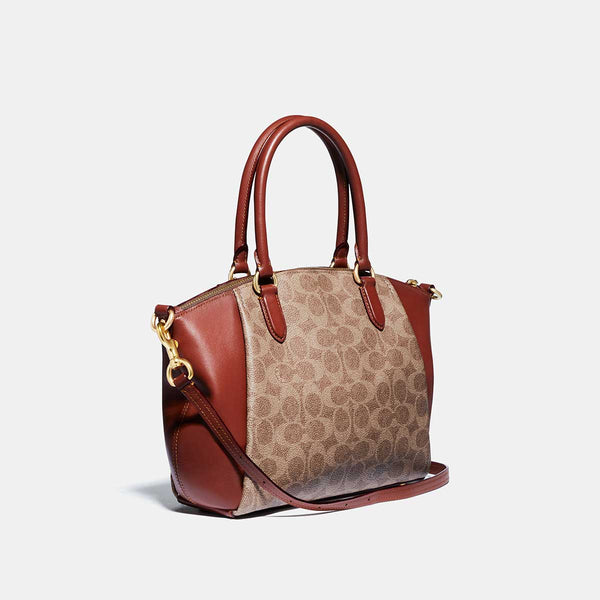 Coach Signature Elise Satchel Bag