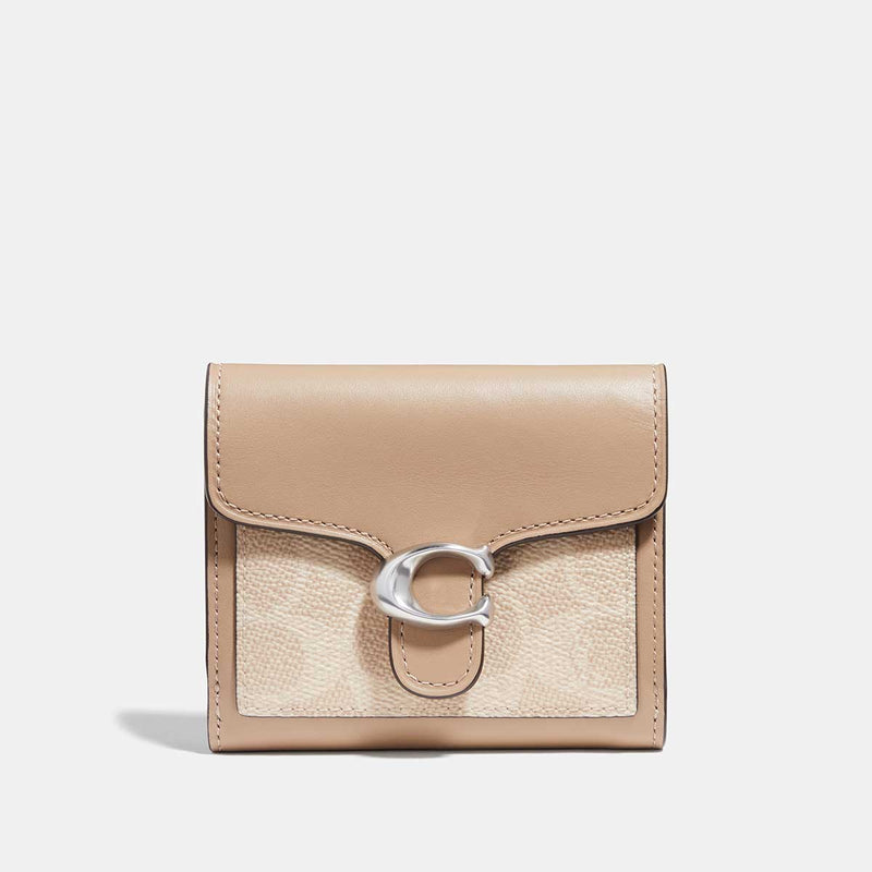 Coach Tabby Small Wallet In Colorblock Signature Canvas