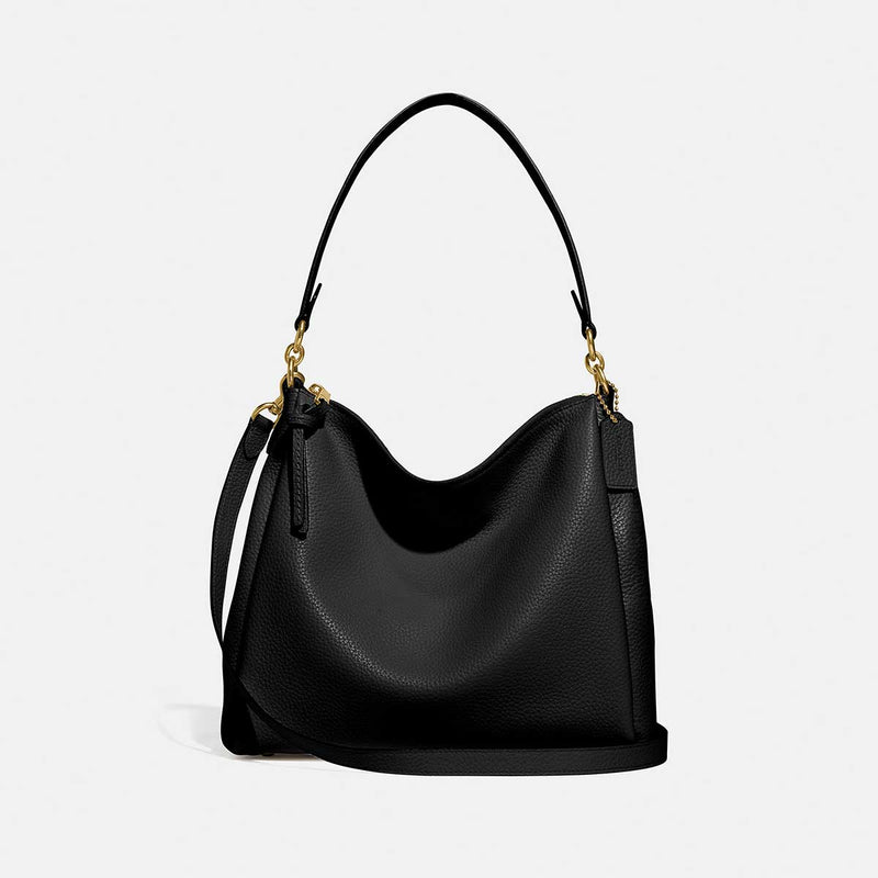 Coach Soft Pebble Leather Shay Shoulder Bag