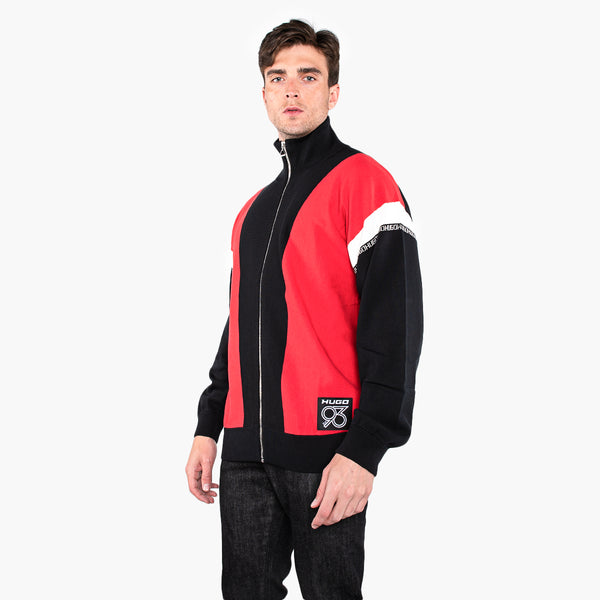 Hugo Sjacketon  Zip Up Knitwear