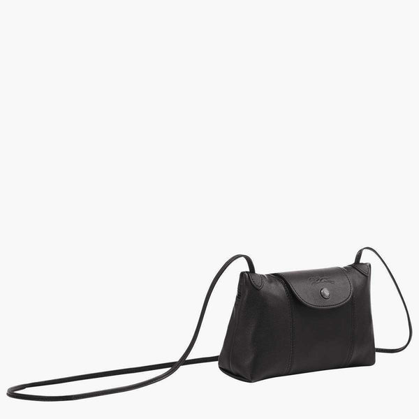 Longchamp Le Pliage Cuir Cross Body Bag