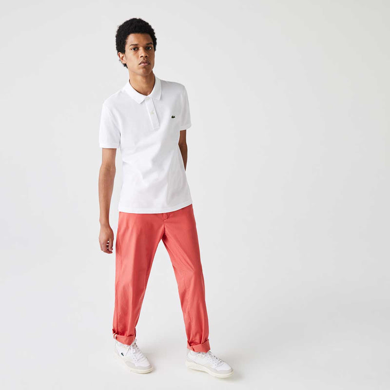 Lacoste Men's Slim fit Polo Shirt in petit piqué