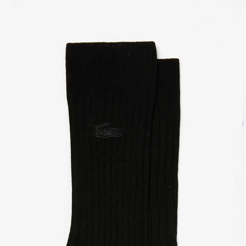 Men's Ribbed Cotton Blend Socks
