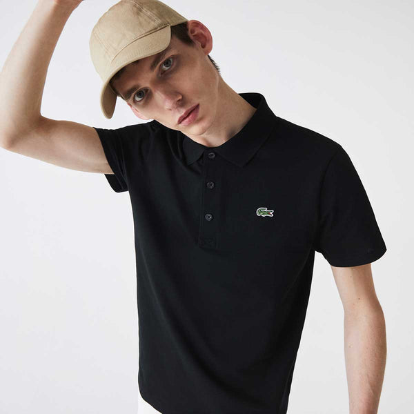 Lacoste Men's SPORT Regular Fit Tennis Ultra-Light Cotton Knit Polo Shirt