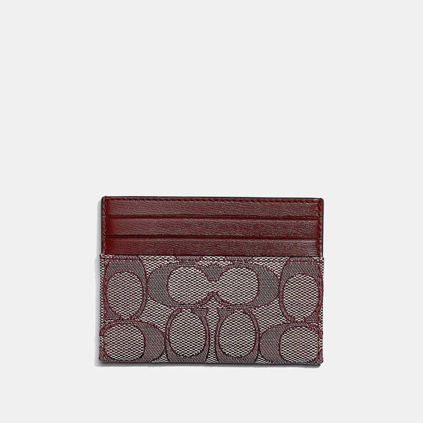 Coach Flat Card Case