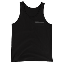 Load image into Gallery viewer, Tank Top //: Black