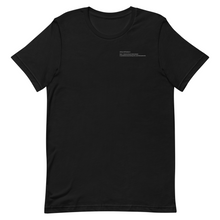Load image into Gallery viewer, T-Shirt //: Black
