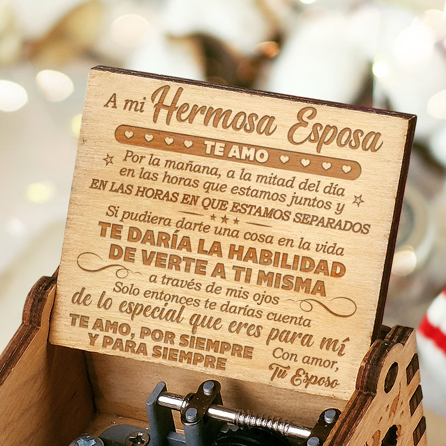 Husband Y Esposa - Te Amo, Forever and Forever - Beautiful Musical box