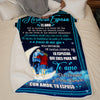 I handcuff Wife - Forever and Forever - blanket