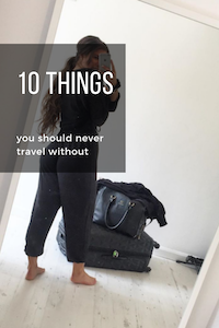 Top 10 Items to Carry in Your Hand Luggage