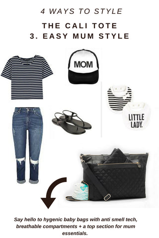 stylish parent changing bag