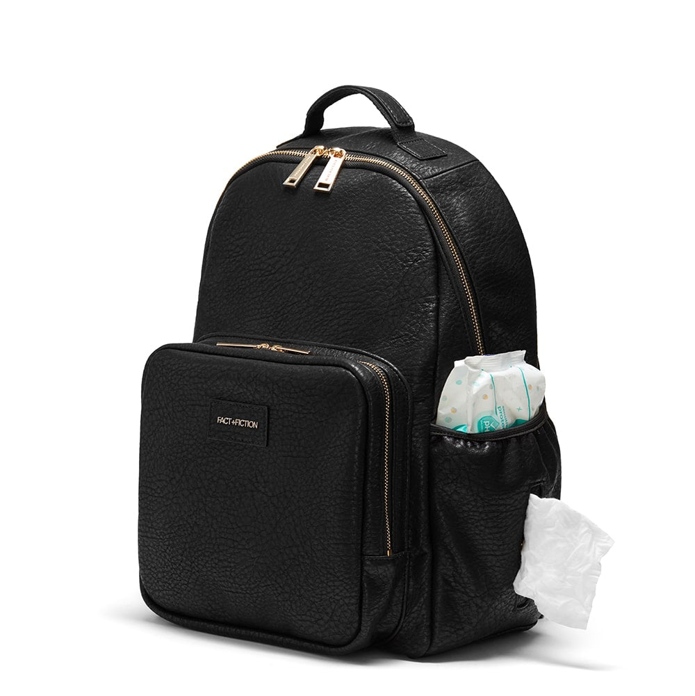 diaper backpack with wipe pockets