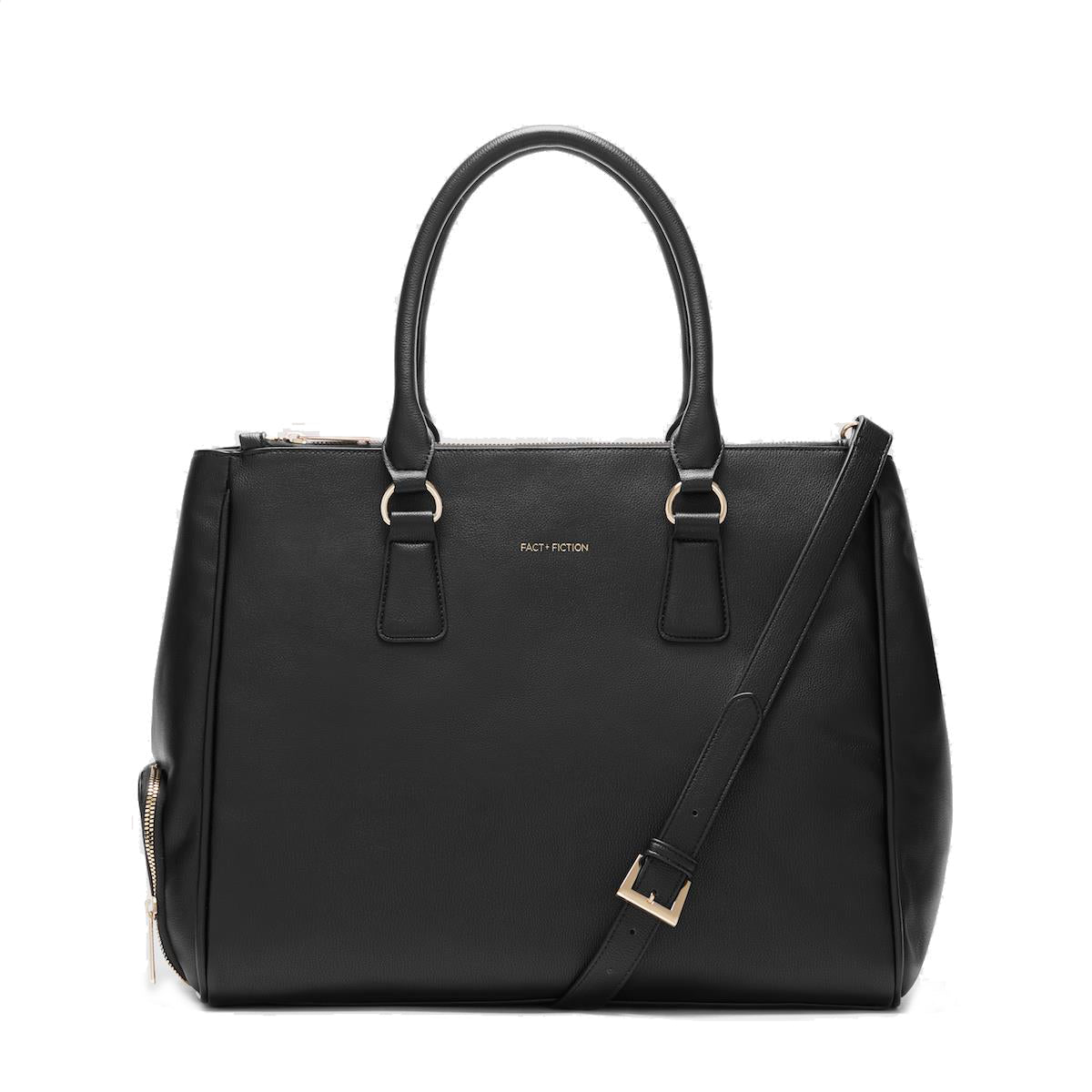 Sophia Tote Black-FACT + FICTION