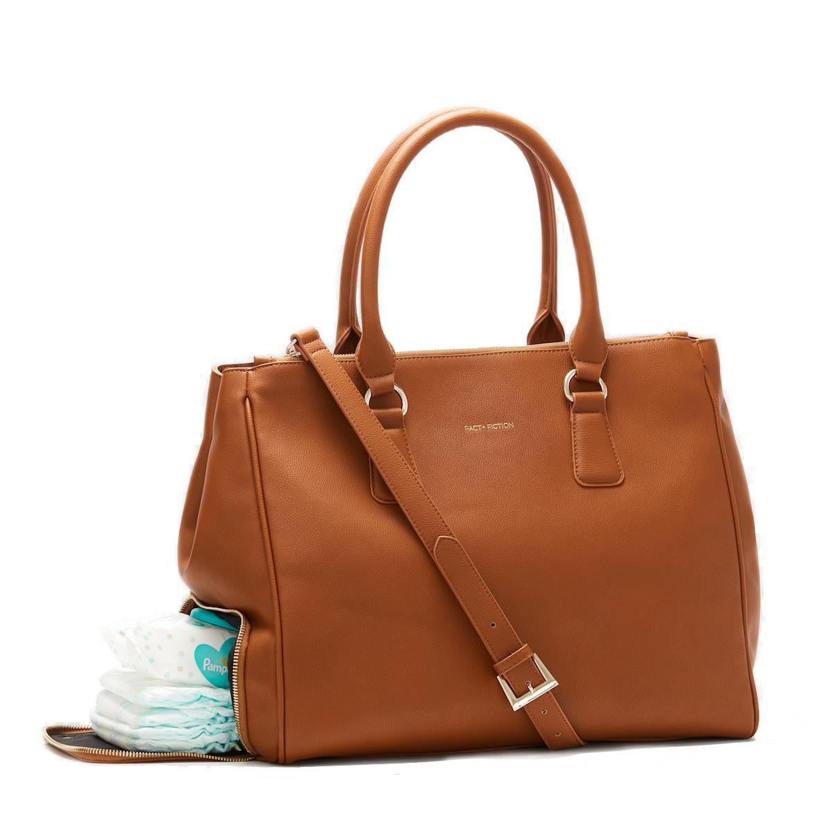Stylish baby bag with compartments
