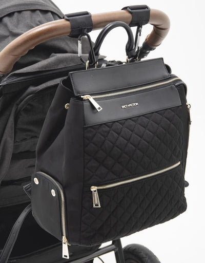 Charli Quilted Backpack + Changing Mat