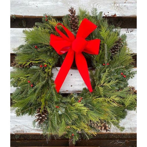 The Natural Christmas Wreath