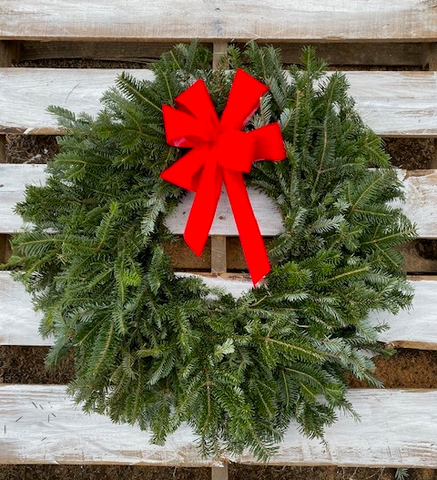Classic Fraser Fir Wreath