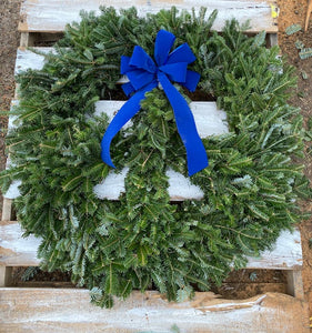 Fraser Fir Peace Wreath