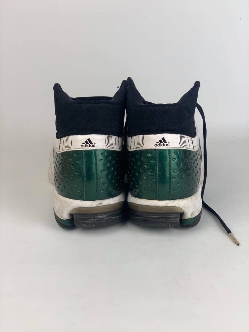 Green Adidas Basketball Runners (Size 15 US)